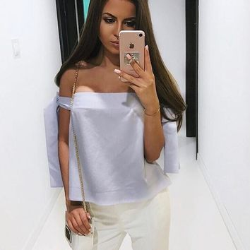 Beach Comfortable Stylish Bralette Hot Spaghetti Strap Bra Summer Sexy Strong Character Patchwork Cotton Wrap Vest [10507724423]