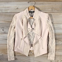 Lace Motorcycle Jacket