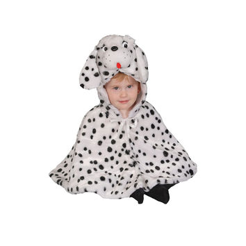 Brave Little Dalmatian Cape Costume Set - 12-24 mo.