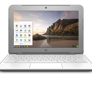 "Silver 14"" Intel-Celeron Chromebook"