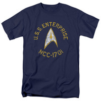 Star Trek Collegiate Adult T-Shirt