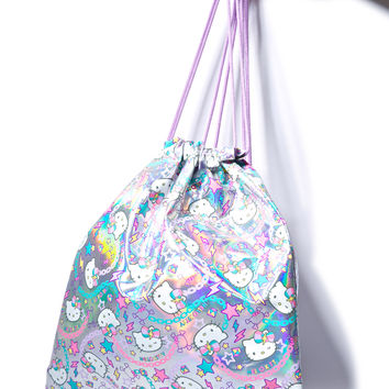 Sanrio Pastel Pop Hello Kitty Drawstring Bag Multi One