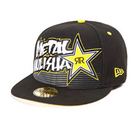 Metal Mulisha Rockstar Rushed Mens Hat Black  In Sizes 7