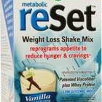 Nature's Way Metabolic ReSet, Vanilla, 10 Count