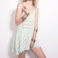 Free People: Voile Trapeze Slip Dress