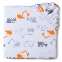 Circo® Woven Fitted Crib Sheet - Dream Truck'n