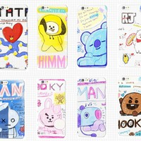 KPOP BTS Bangtan Boys Army  home BT21 same for  five years Remembrance Day Fashion trendy Accessories Jewelry phone case AT_89_10