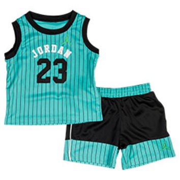 Boys' Infant Air Jordan 23 Throwback Shorts Set
