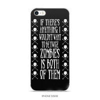 zombie iphone case, undead, walking dead, movie monsters, horror, dark humor, iphone 7, iphone 6, iphone se, iphone 5, funny iphone case