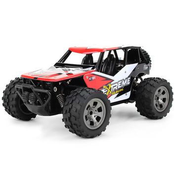 Hot Sales Remote Control RC Cars Toys 2.4G 1/18 18km/H RC Monster Truck Car RTR Toy 260 Strong Power Motor Cool Powerful RC Cars