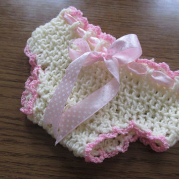 Crochet Diaper Cover Pattern - Newborn up to 12 months - Diaper Cover, Photo Prop