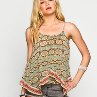 Patrons Of Peace Womens Flyaway Cami Multi  In Sizes