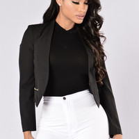 The Wire Blazer - Black