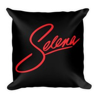 Selena Quintanilla Throw pillow - A Decorative throw pillow case with cushion cover 18 X 18 inch