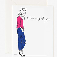 Thinking of you notecard, Greeting card