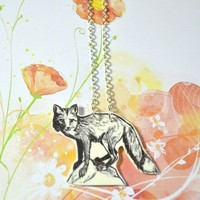 Fox necklace - Bows Jewellery