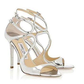 JIMMY CHOO Womens Heeled Sandals Lang