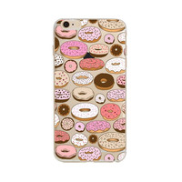 Yummy Donuts Phone Case For iPhone 7 7Plus 6 6s Plus 5 5s SE