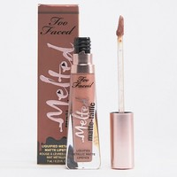 Too Faced Melted Matte-tallics Lipstick - Faking It at asos.com