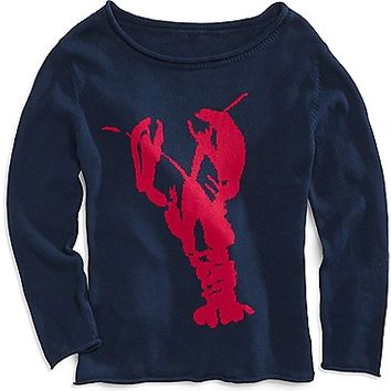 WHAT A CATCH LOBSTER SWEATER