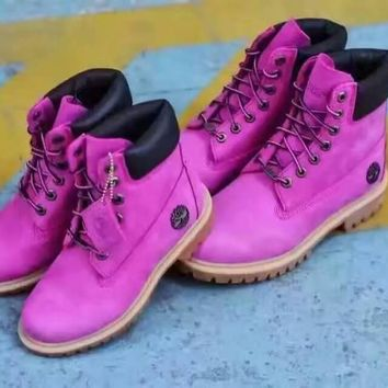 Timberland¡ª¡ª¡°Breast Cancer Awareness¡± Men Women Boots