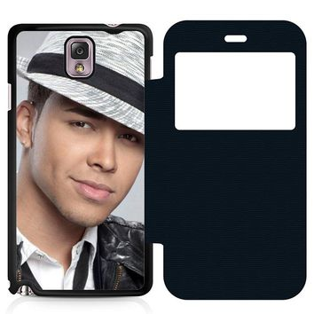 Prince Royce Hat Leather Wallet Flip Case Samsung Galaxy Note 3