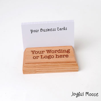 Best wood business card holders products on wanelo wood business card holder custom engraved business card displa colourmoves