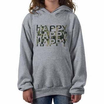 Happy Happy Happy Camo Funny Redneck Shirts from Zazzle.com