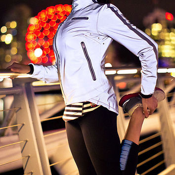 run: reflective jacket | women's jackets and hoodies | lululemon athletica