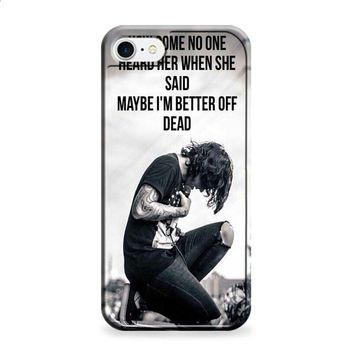 oliver sykes bring me the horizon quote iPhone 6 | iPhone 6S case