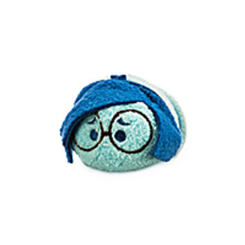Sadness ''Tsum Tsum'' Plush - Inside Out - Mini - 3 1/2''