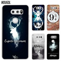 MOUGOL All This Time Always Harry potter design transparent hard case cover for LG Q6 G3 G4 G5 G6 K4 K5 K8 K10 V10 V20 V30