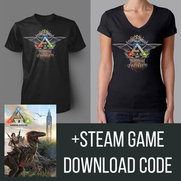 ARK: Survival of the Fittest Shirt + Game Bundle