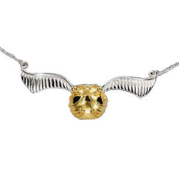 Harry Potter Quidditch Golden Snitch Necklace | WBshop.com | Warner Bros.