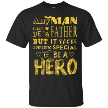 Men's Father Hero Tee Shirt