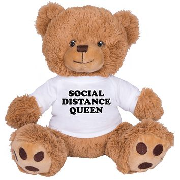 Social Distance Queen Brown Bear