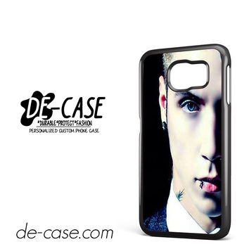 Andy Biersack Black Veil Brides Half Face DEAL-765 Samsung Phonecase Cover For Samsung Galaxy S6 / S6 Edge / S6 Edge Plus