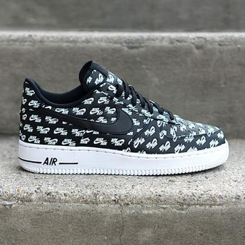 auguau NIKE - Men - Air Force 1 Low QS - Black/White