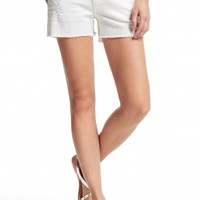 White Carrie Cut Off Short | Calypso St. Barth
