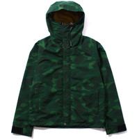 COLOR CAMO LIGHT WEIGHT HOODIE JACKET