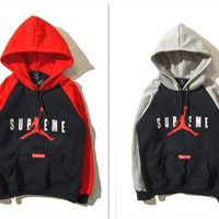 Thicken Hats Hoodies Winter Pullover Men Jacket [9070638275]
