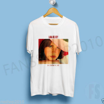LANA DEL REY HONEYMOON album Ultraviolence Born To Die White TShirt Size S to XL