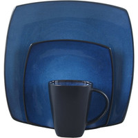 Walmart: Soho Lounge Square 16-Piece Dinnerware Set