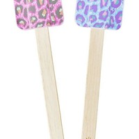 80's Leopard Print Silicone Spatula by Rice - Assorted Colors Available! - PRE-ORDER, SHIPS LATE NOVEMBER