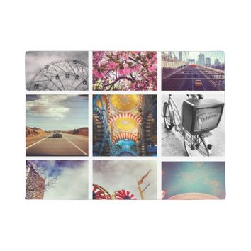 Custom Instagram Photo Collage Doormat