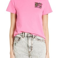 MARC JACOBS x MTV Embroidered Logo Tee | Nordstrom