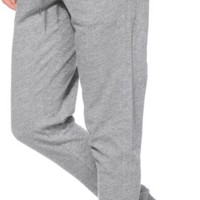 Empyre Sylvie Exposed Zipper Charcoal Speckle Jogger Pants