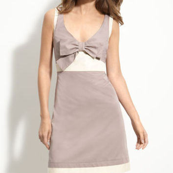 See By Chloe Gray Bow Dress