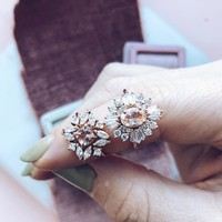 Victoria Romantic Cluster Ring
