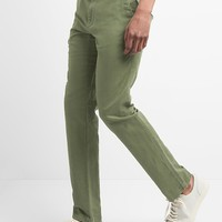 Linen Khakis in Slim Fit | Gap